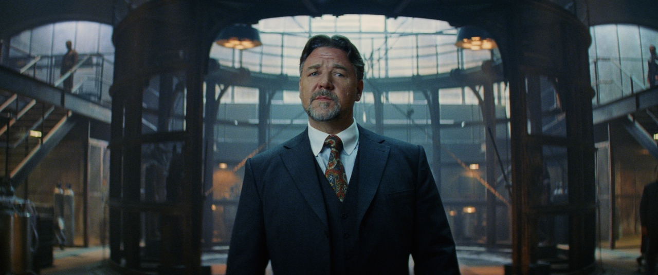 Russell Crowe in THE MUMMY. (Photo courtesy of Universal Pictures).