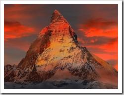 Matterhorn Sunset