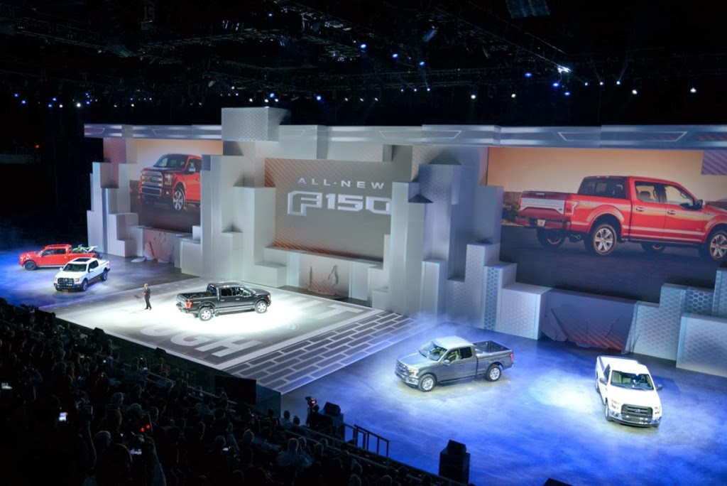 2015 Ford F-150 Unveiling NAIAS 9
