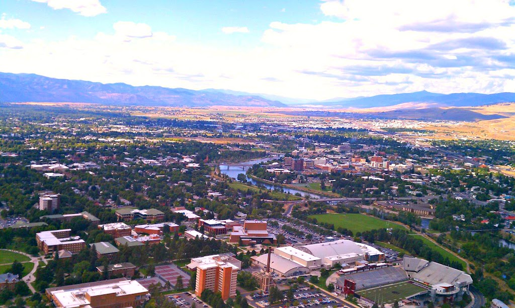 "Missoula from the ""M"".  Photo by Joel Coles"