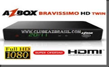 ATUALIZAÇÃO AZBOX BRAVISSIMO TRANSFORMADO EM MEGABOX 3000