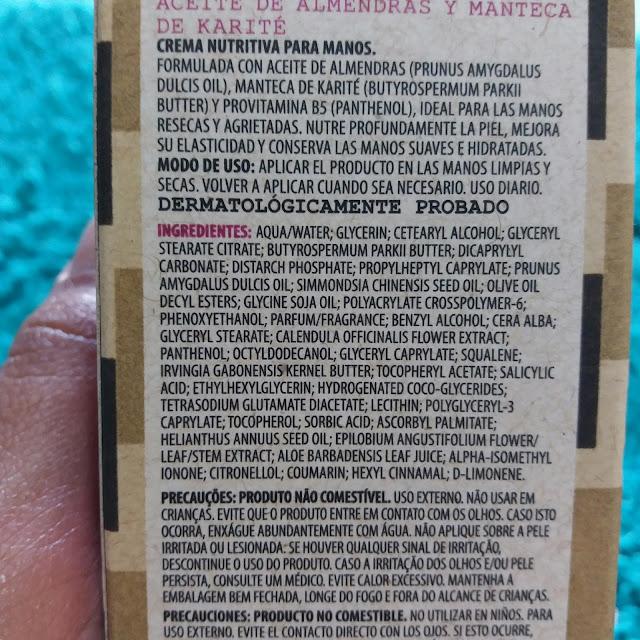 Papo Resenha: Creme Nutritivo para as mãos óleo de amêndoas e manteiga de karité da Korres