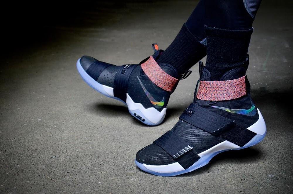 ... Nike LeBron Soldier 10 OnFoot Beauty Shots ... 9550c01b54