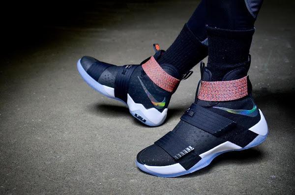 wholesale dealer 54b60 52030 Nike LeBron Soldier 10 – On-Foot Beauty Shots | NIKE LEBRON ...