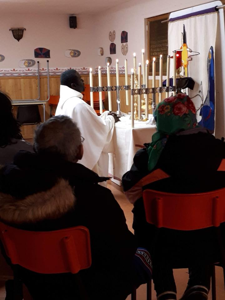 Eucharistic Adoration in Schefferville