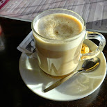 coffee time in The Hague in the Netherlands in Den Haag, Zuid Holland, Netherlands
