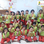 Friendship Day Celebration by Sr KG Section at Witty World Bangur Nagar (2018-2019)