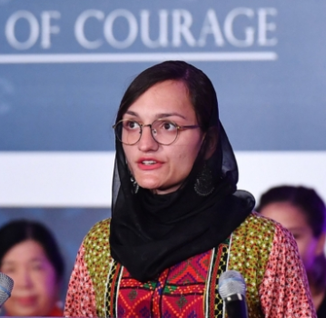 """""""I'm sitting here waiting for them to come and kill me"""" Female mayor in Afghanistan says as she reveals she can't leave her family"""