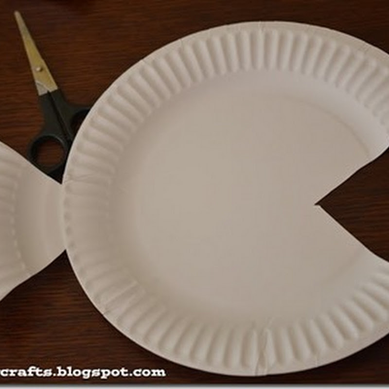 Manualidades con platos de cartón