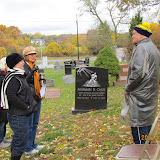 Dave Bradbury, Pine Lake Cemetery docent