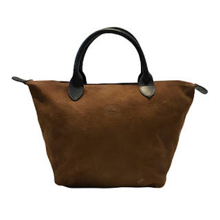 Longchamp Brown Leather Tote