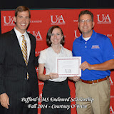 Scholarship Awards Ceremony Fall 2014 - Courtney%2BObrien.jpg