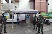 Wujud Tugas dan  Tanggung Jawab Babinsa Kelurahan Kratonan Melaksanakan Pengamanan Gereja BetheL Injil Sepenuh