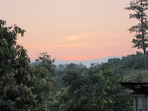 Photo: Sunset second village