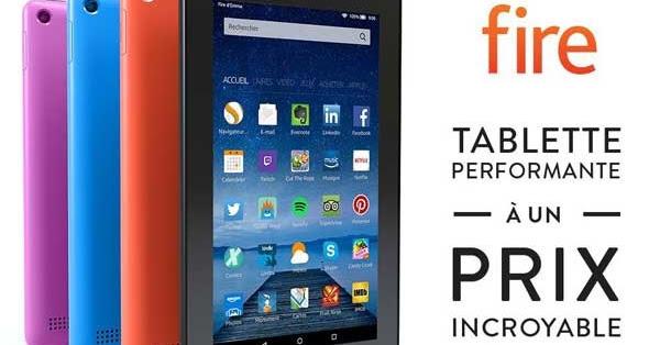 tablette amazon fire 7 meilleur rapport qualit prix du. Black Bedroom Furniture Sets. Home Design Ideas