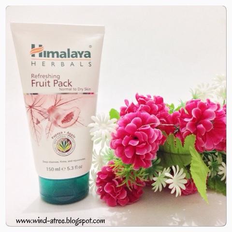 [Review] Himalaya Herbals - Refreshing Fruit Pack