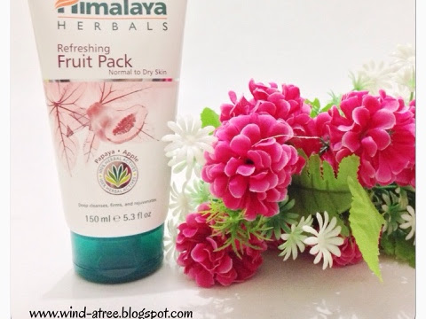 [Review] Himalaya Herbals - Refreshing Fruit Pack