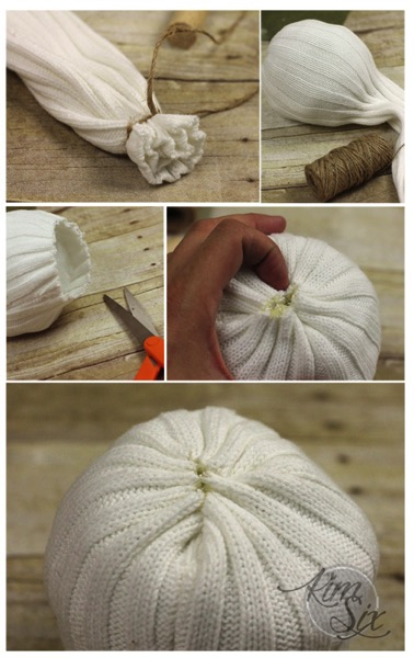 How to make a new sew pumpkin