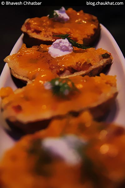 Loaded Potato Skins, BarBar, Phoenix Market City, Viman Nagar, Pune