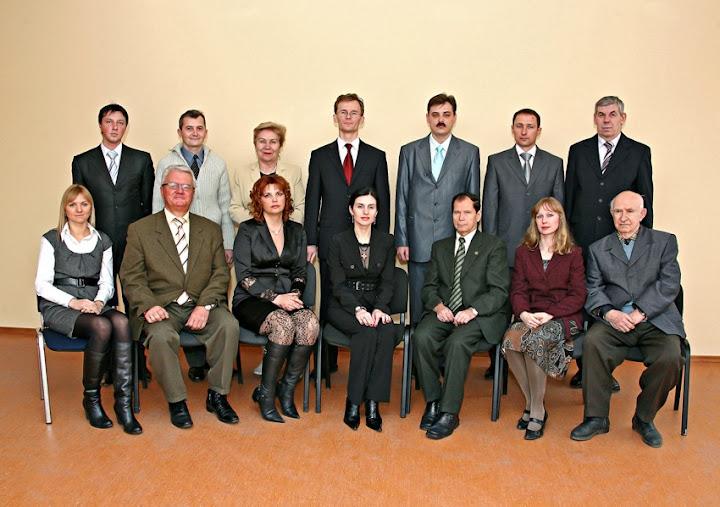 Професорсько-викладацький склад кафедри адміністративного та господарського права