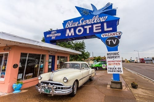 Route 66 Blue Swallow Motel