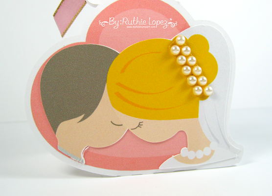 Blog Hop Amor Eterno - Latinas Arts and Crafts - Cajita de dulces para boda