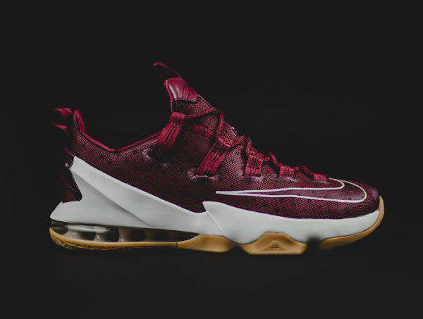 Detailed Look at Cavs Nike LeBron 13 Low