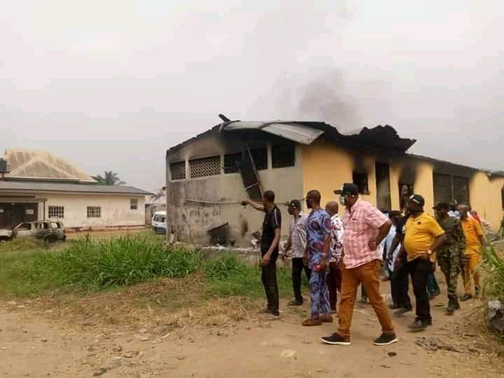 Police Arrest Perpetrators Of Abayi Police Station Attack
