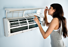 How to properly maintain split type air conditioner unit?