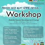 Workshop Mobile Game Development Camp