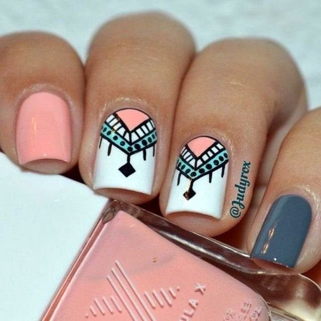 Cool Nail Art Designs To Do At Home Fashion 2d