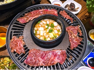 Kobi Korean BBQ Thornhill: beef