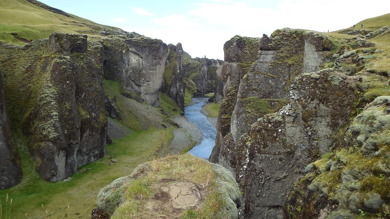 Kanjoni, Fjaðrárgljúfur  JJT