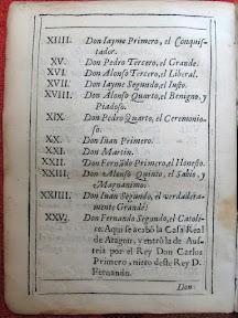 De Jaime (o Iayme) primero a Fernando el Católico