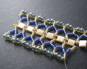 Tila Bead Chevron Chain Tutorial