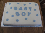 Baby boy polka dots