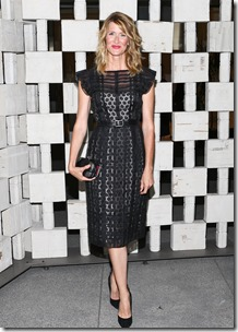 Laura Dern, (wearing Bottega Veneta)