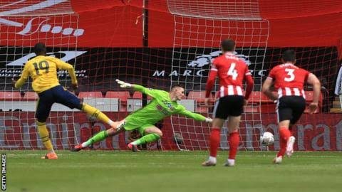 Sheffield United 1 – 2 Arsenal FA Vup 2019/20(Watch Here)