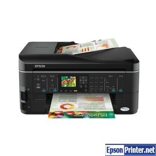 How to reset Epson ME-960FWD with program