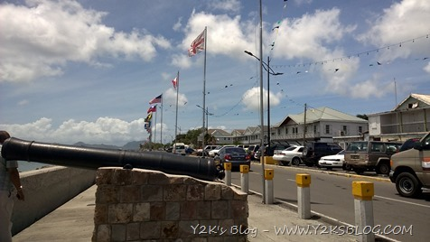 Lungomare di Charlestown - Nevis