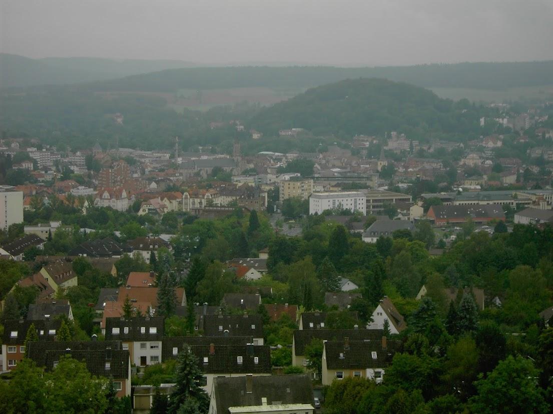 Blick über Bad Kissingen