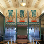 inside the Miami Colony Theatre, art deco! in Miami, Florida, United States