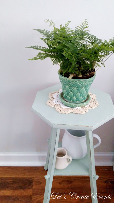 Spring Inspired Plant Stand @ Let's Create Events