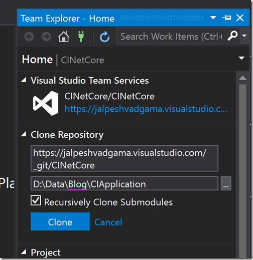 team-explorer-visual-studio