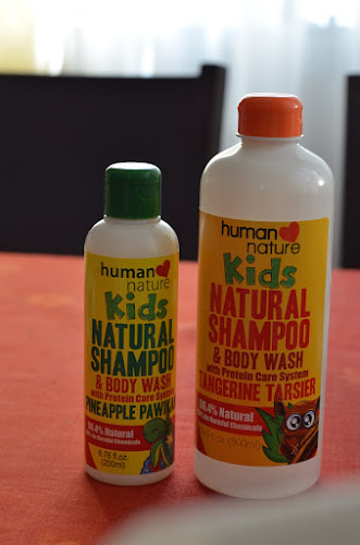 Human Heart Nature Kids Shampoo and Body Wash