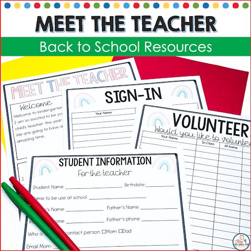 Meet the Teacher Back to School Night