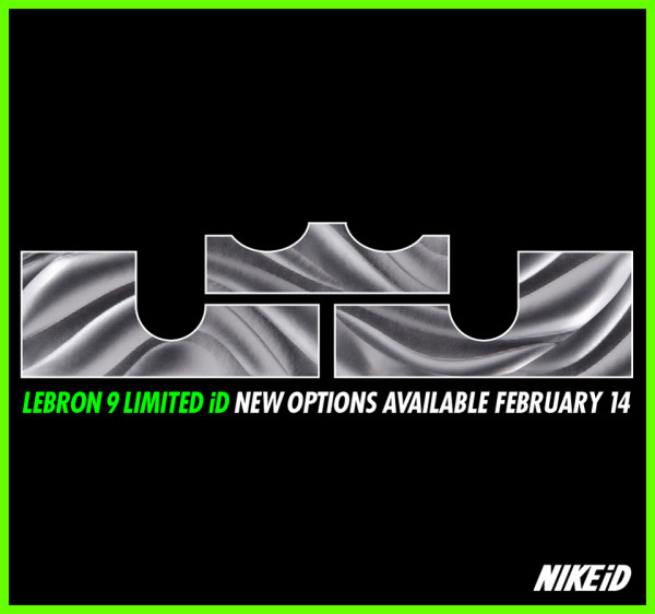 New LEBRON 9 iD Options Coming to NIKE ID Very Soon