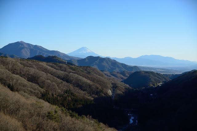 八ヶ岳高原大橋 富士山