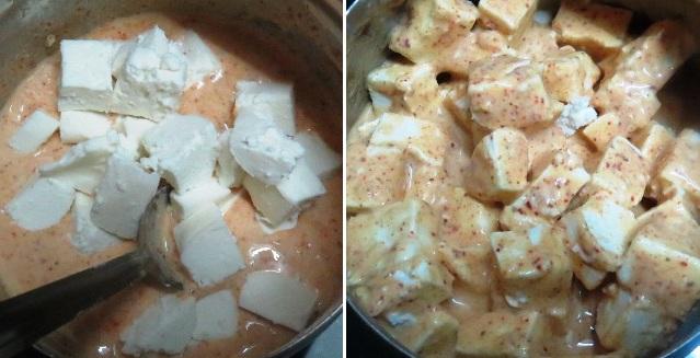 Paneer Tikka Masala Easy Recipe   Spicy Indian Side Dishes   Indian Paneer Tikka Masala Recipe written by Kavitha Ramaswamy of Foodomania.com