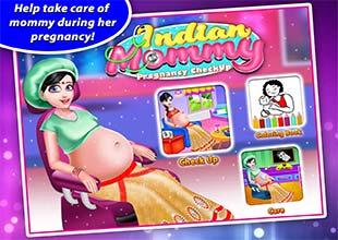 لعبة البنات توليد الامهات